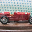 Ultra Rare Vintage   ALFA ROMEO P2 Grand Prix World Champion 1925   1/25 Mebetoys   Made in Italy 1979   New with original box