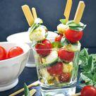 Tomate Mozzarella Sticks leckeres Fingerfood Rezept - Kochen aus Liebe