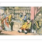 25cm Photo. Death and the Apothecary or The Quack Doctor,