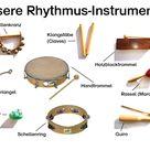 Orff-Instrumente - Musik für Kinder
