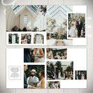 Wedding Album Template: Infinite  10x10 Wedding or Engagement | Etsy