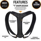 Perfect Posture Corrector - type 2-black / M