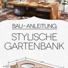 Gratis-Anleitung: Baumbank selber bauen – mit Schattenspender!