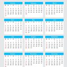2021 Calendar Weeks Start On Monday - Calendar Inspiration Design