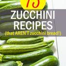 Recipe For Zucchini Bread