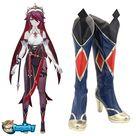 Genshin Impact Rosaria Blue Shoes Cosplay Boots CC0299 - Female / 25.5cm