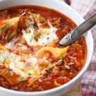 Lasagne-Suppe - schnell, einfach und so lecker! - Kochkarussell