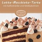 Kleine Latte-Macchiato-Torte