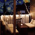Kleinen Balkon Einrichten Loungemöbel Ikea Äpplarö
