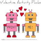 Valentine Activity Pack (printable) - Ms. Alisha Carlson