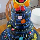 Pac Man Cake