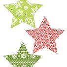 Free Printable Garland-Star | Creative Center