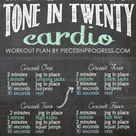 Workout Regimen