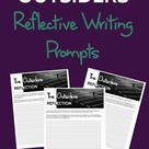 The Outsiders 3 Reflective Writing Prompts