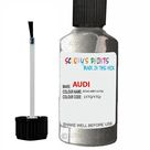 Audi A4 S4 Atlas Grey Code Ly7Q Touch Up Paint Scratch Stone Chip