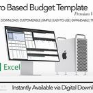 Monthly Budget Template   Zero Based Budget   Income Expense Tracker   Dave Ramsey Inspired   Excel
