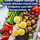 Dieser vegane Spargel-Salade-Niçoise macht jede Grillparty zum Hit! Versprochen. 🤝