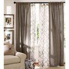 Emery Linen Rod Pocket Curtain