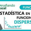 Estadística en Excel   Funciones de Dispersión