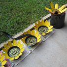 Recycled Yard Art