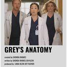 minimal movie posters greys anatomy