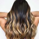 21 Chic Examples of Black Hair with Blonde Highlights   StayGlam