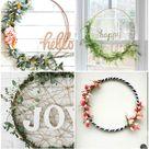 8 Inspiring DIY Hula Hoop Wreath Ideas to Make for any Season