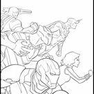 Avengers: Endgame Ausmalbilde zum Ausdrucken 9
