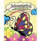 Schmetterling Malbuch fr Erwachsene ( in Grodruck ) (Paperback)