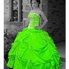 Lime Green Dresses