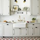 Tour an Old World Kitchen With Some Seriously Surprising Floors
