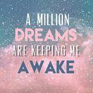 dreams are keeping me awake
