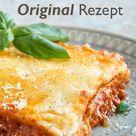 Lasagne Rezept - Original aus Italien - Gustinis Feinkost Blog