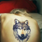 Back Leg Tattoos