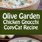 Olive Garden Chicken Gnocchi Soup   Recipe and Video