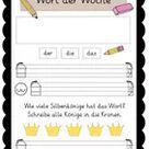 Wort des Tages & Wort der Woche – Unterrichtsmaterial in den Fächern DaZ/DaF & Deutsch