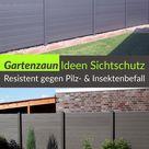 Gartenzaun Ideen Sichtschutz   große & schöne Auswahl, kostenlose Muster bestellbar