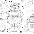 Neu Weihnachten Malvorlage  Kühlt Malblatt Ab