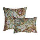 Alcott Hill Baileyton Decorative Outdoor Boudoir Throw Pillows green/Red/Yellow 20.0 x 20.0 x 5.0 in   Wayfair Canada