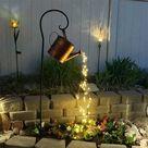 LED Gießkanne   Die perfekte Gartendekoration