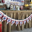 Baseball Baby Shower Party Ideas | Photo 7 of 18