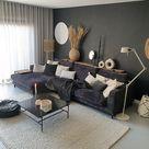 De perfecte grijze muur in de woonkamer | Huizedop