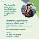 Join LPN Programs At Verve College