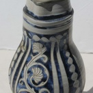 mid 19thC stoneware flagon w pewter lid featuring h - Aug 21, 2012 | Flying Pig Auctions in MA