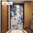 38.58US $  Mosaik fliesen handwerk einzigartige design home wohnzimmer badezimmer hotel innen wanddeko glasmosaik individuelle handarbeit fliesen schmetterling interior wall interior wall designcustom bathroom tile - AliExpress