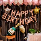 35.14US $ |57Pcs/lot Alphabet Champagne Photography Letter Foil Balloon Backdrops Adult Birthday Party Set Pink Star Latex Globo Background|background pink|background partybackground birthday - AliExpress