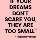 Think big dream bigger!