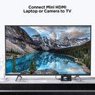 Mini HDMI to HDMI Cable 6ft (male)