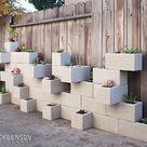 Cinder Block Raised Bed Garden Design Ideas.