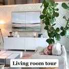 Frugal Home Tour Living Room